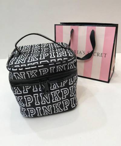 Косметичка Victoria's Secret Makeup Cosmetic Bag Black